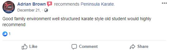 Adult3, Peninsula Karate Rosebud, Victoria